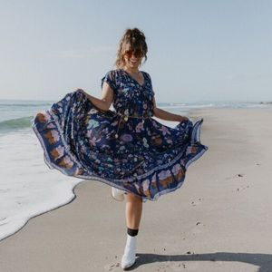 Spell & The Gypsy Wild Bloom Gown Dress